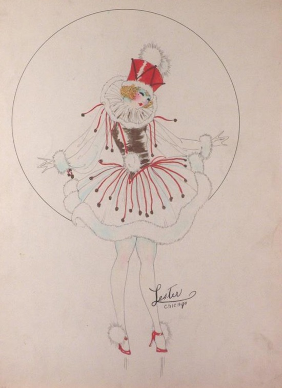 A costume design by Lester Ltd