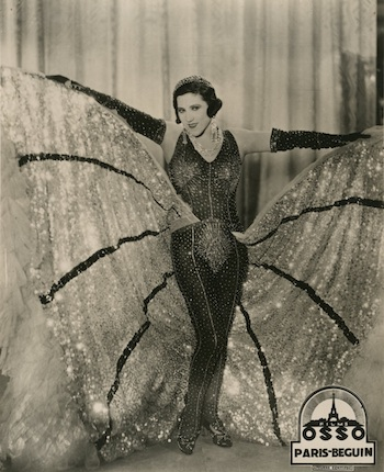 A costume designed by Zig for Jane Marnac in the film Paris-Beguin (1931)
