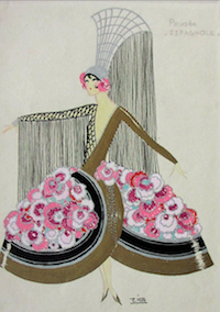 A costume design by Zig, 1920s