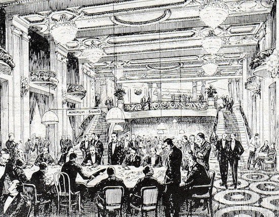 The Frolics - a rendezvous of smart international society in Paris in the early 1920s