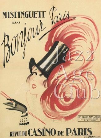 Programme Cover Bonjour Paris at the Casino de Paris (1924)