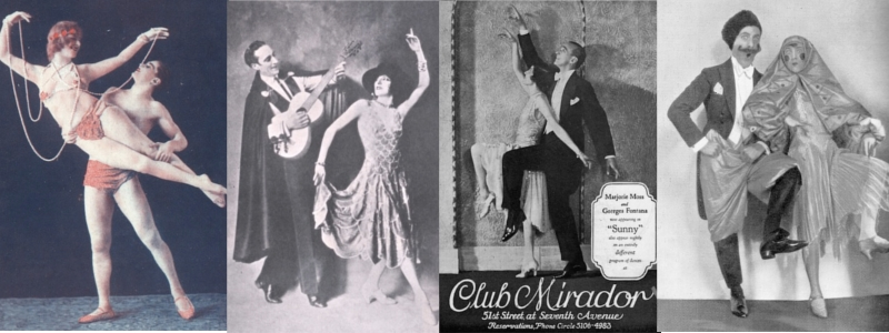 Some dancing duos (from left to right) Roseray & Capella, Fowler & Tamara, Moss & Fontana and Sielle & Mills
