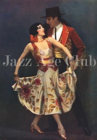 Fowler and Tamara in the Folies Bergere show Un Vent de Folies, Paris 1927