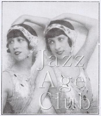 The Lorraine Sisters in the show Paris at the Casino de Paris, 1926