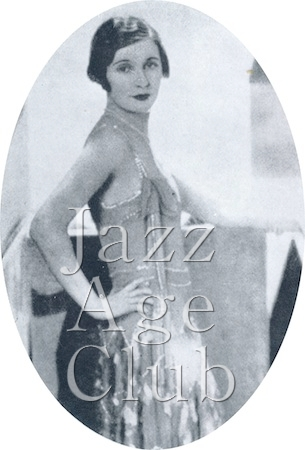 Miss June, one of the leading ladies in the Ambassadeur's 1927 show