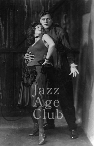 Carl and Tilly Brisson in the Julian Wylie show The Apache, London (1926)