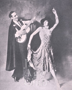 Fowler and Tamara in C.B Cochran's 1930 Revue, London