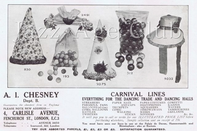 An advert for 'Favours'
