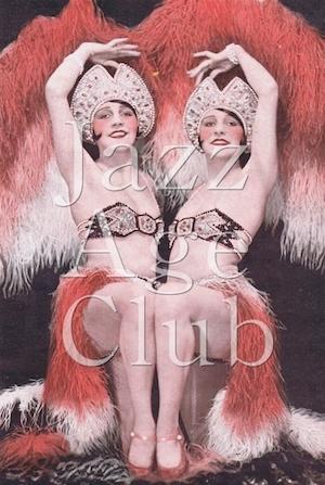 The Dodge Twins in La Grande Folie at the Folies Bergere, Paris, 1928