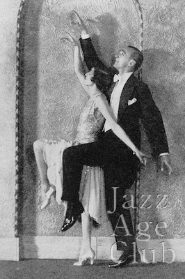 Moss and Fontana in cabaret at the Club Mirador, New York, 1929