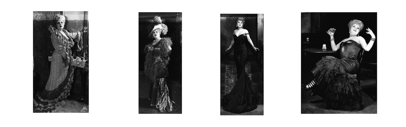 Costumes for Mae West in Diamond Lil (1928)