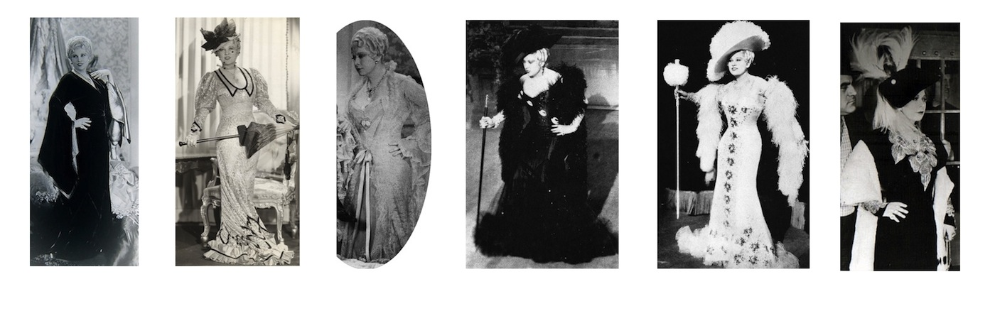 Costumes for Mae West in She Done Him Wrong (1933)