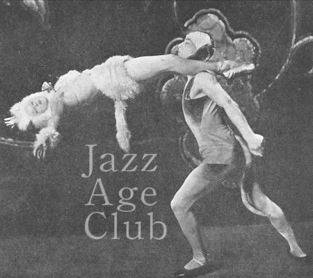 Natacha Nattova and Gene Myrio in a scene from the Piccadilly Revels cabaret at the Piccadilly Hotel, London, 1925