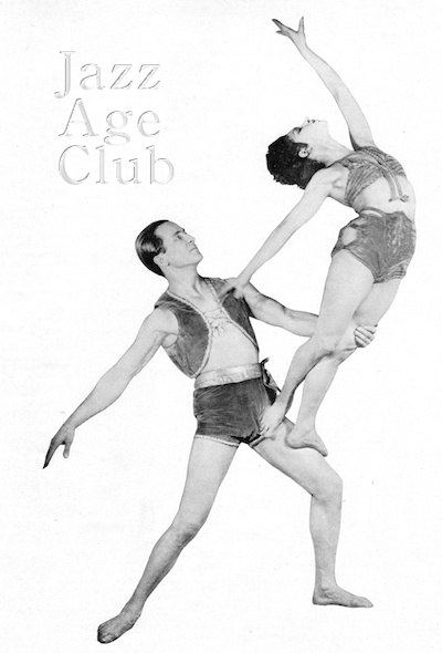 Natacha Nattova in a dance with Rodion, 1928