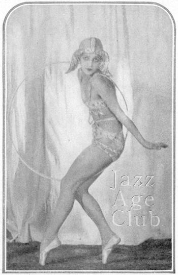 Natacha Nattova in a dance, 1928
