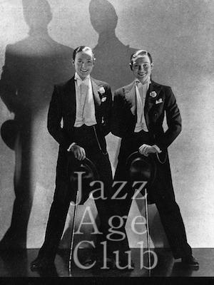 The Rocky Twins, Paris, 1928-29