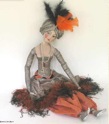 Rosalind Boudoir Doll from Bonnie's Cat's Meow