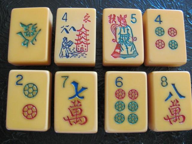 Mah Jong tiles