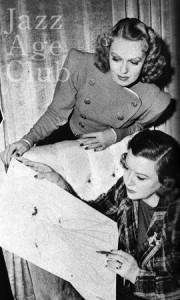 Birth of a gown no2 : Dolly Tree and Rita Johnson discuss the gown