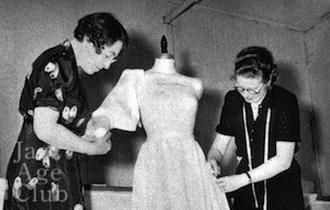Birth of a gown no4: fitting the pattern to a dummy