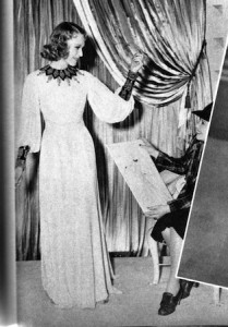 Birth of a gown no7: Rita Johnson's fitting