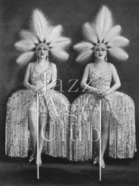 The Dolly Sisters in Paris, 1925
