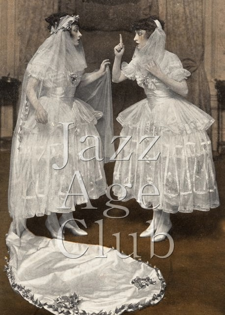 The Dolly Sisters in New York, 1916