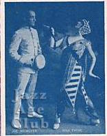 Nina Payne in her vaudeville act @ 1916