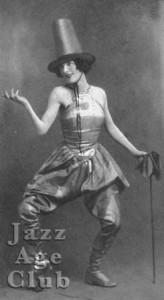 Nina Payne star of the Folies Bergere, 1925