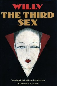 The cover for Willy's book The Third Sex about gay life in Paris during the 1920s