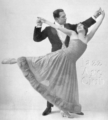 May Vivian and Michael Rinder dancing at the Riviera Palace Hotel, Monte Carlo Spring 1924