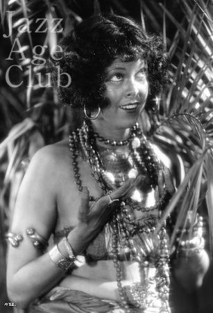 Gypsy Rhoumaje in the film White Cargo