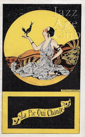 Programme from Paris designed by Marcelle de St Martin (early 1920s)