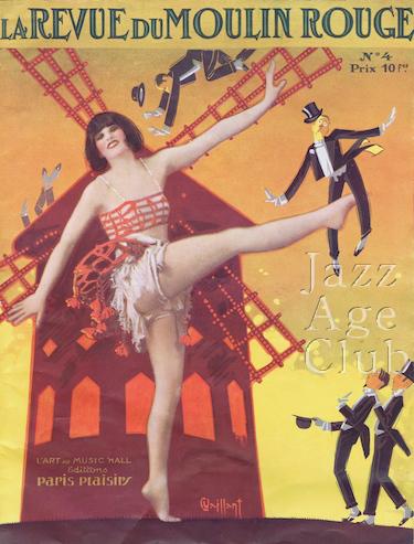 Miss Florence in La Grande Revue du Moulin Rouge (1925, Paris)