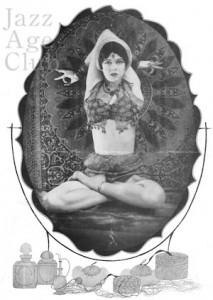 Gypsy Rhouma-je performing at L'Ermitage in Paris (1926)