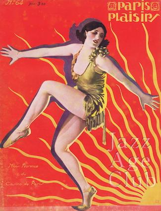 Miss Florence at the Casino de Paris, 1927