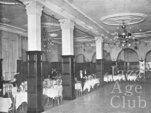 The interior of Murray's nightclub