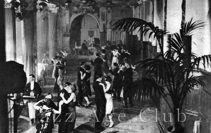 The interior of Murray's nightclub showing dancing on the the dance floor