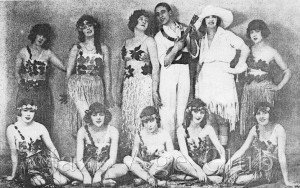 The stars of the cabaret show at Murray's in 1922