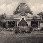 The exterior of the Casino at Casino Aix Le Bains, 1920s