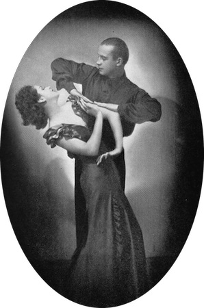 The dancers Barry and Beatrice in the cabaret show Folies D'Amour, New York (1936) and London (1937)