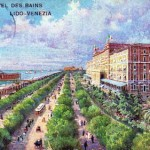 A view of the Grand Hotel des Bains, Lido, Venice, 1920s