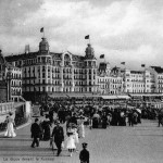 A view of the promenade, Ostend, 1920s