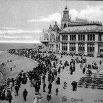 A view of the Kursall Casino at Ostend, 1920s