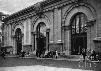 The thermal establishment at Aix Le Bains, 1920s