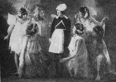 A scene from the popular Christmas Play The Windmill Man