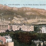 A view of the Excelsior and the Spendide-Royal hotels at Aix-Le-Bains , 1920s