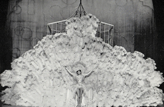 The Dream Bird scene in the cabaret show Folies de Femmes, staged at the French Casino in New York and the London Casino in 1936