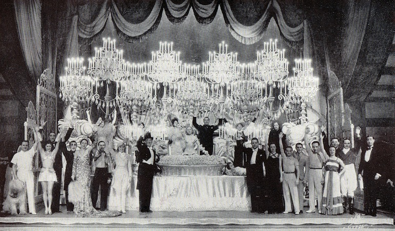 The Finale in the cabaret show Folies de Femmes, staged at the French Casino in New York and the London Casino in 1936
