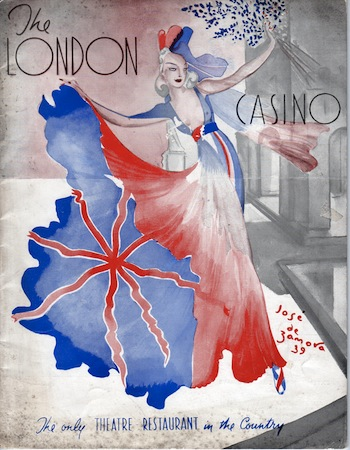 A programme for the London Casino
